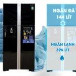 Tủ lạnh hitachi 4 cánh R-W660PGV3 side by side có gì nổi bật