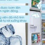 Cách làm đá tủ lạnh hitachi